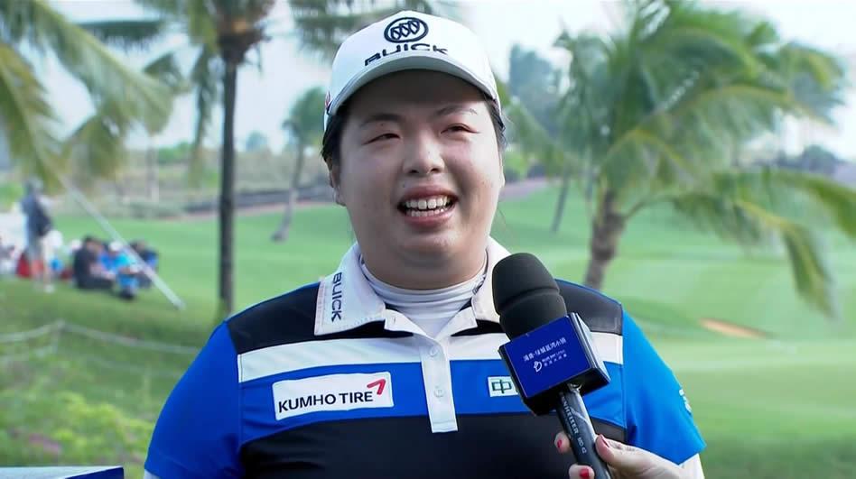 Shanshan Feng, la nueva golfista No. 1 del mundo (cortesía Golf Channel)