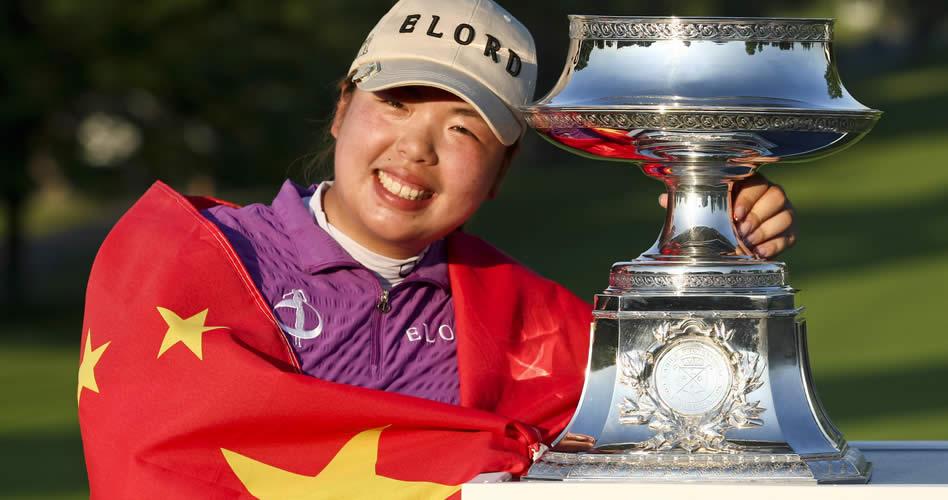 La nueva golfista No. 1 del mundo es China