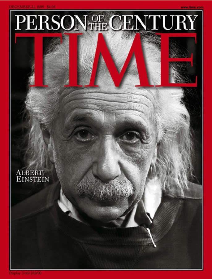 La primera y última clase de golf de Albert Einstein (cortesía El País)