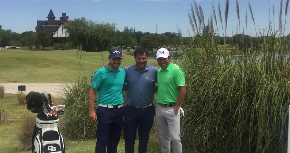 Julián Etulain, Ricardo González y Andrés Romero, figuras destacadas esta semana en el Buenos Aires Golf Club / Crédito: GMMG