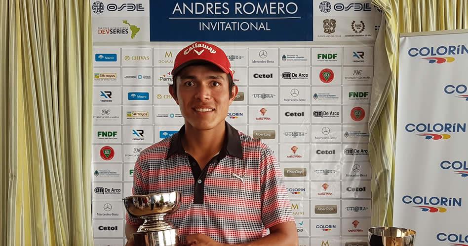 Núñez es el nuevo campeón del Andrés Romero Invitational