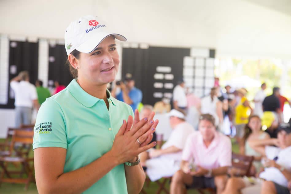 "Lorena Ochoa en la la séptima edición del ""American Express Punta Mita Gourmet & Golf Classic"""