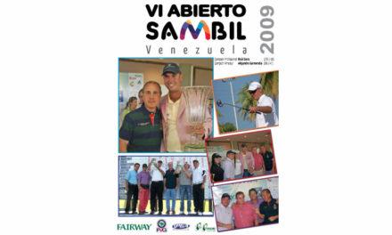Raúl Ignacio Sanz Arcaya, ganador de la VI Abierto Sambil en el 2009 con 18 bajo-par