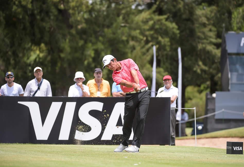 Augusto Núñez (ARG) se mantiene en la pelea en el 112° VISA Open de Argentina presentado por Macro (Enrique Berardi/PGA TOUR)