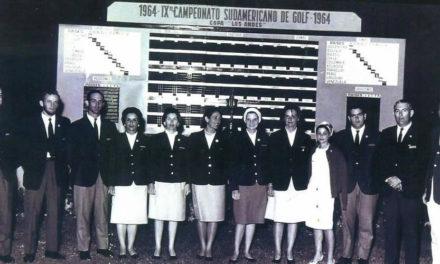 Una dura del golf nacional de damas
