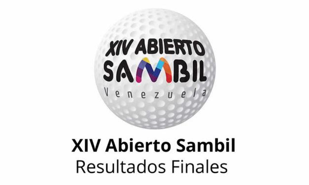 XIV Abierto Sambil, resultados finales