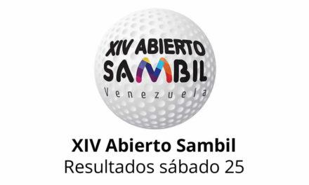XIV Abierto Sambil, resultados domingo 26