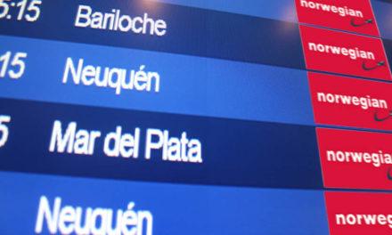 Argentina autoriza a Norwegian a operar 153 rutas en el país a partir de 2018