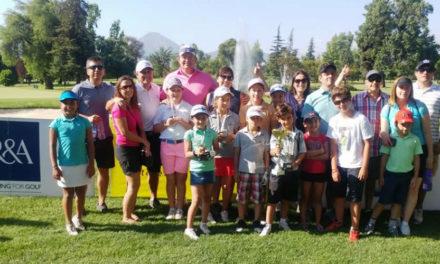 Brisas de Chicureo es tricampeón de Golf Juvenil