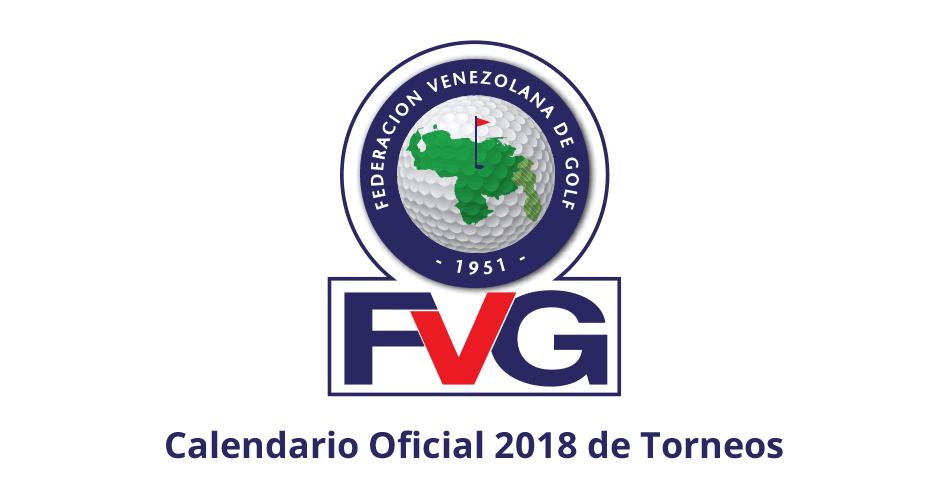 Calendario Oficial 2018 de Torneos FVG