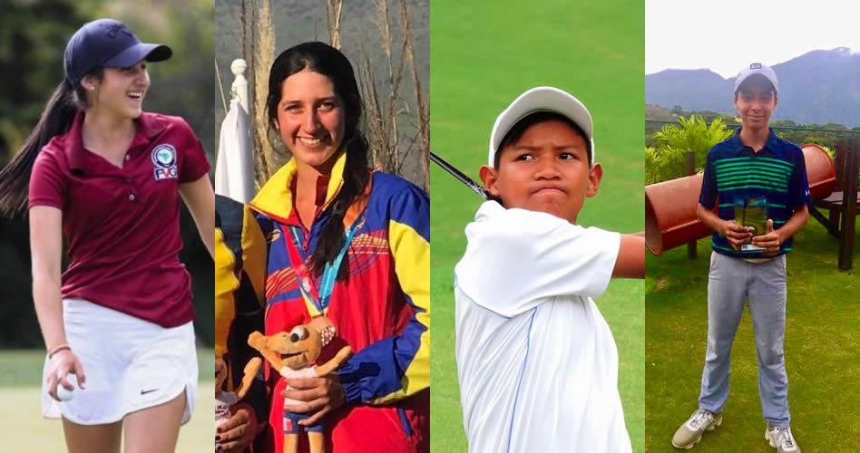 Cuatro Golfistas optarán por Premio Atleta del Año