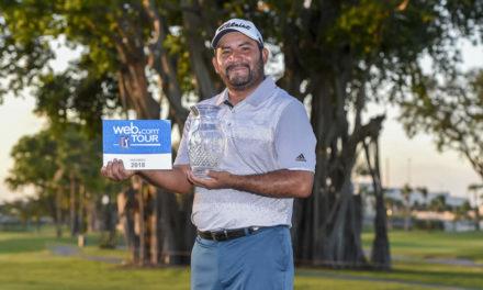 """""""El Camarón"""" Rodríguez es el Jugador del Año del PGA TOUR Latinoamérica"""