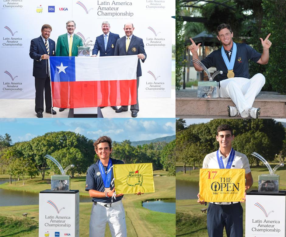 El crecimiento del golf chileno se vio reflejado en los éxitos que tuvieron en el Latin America Amateur Championship