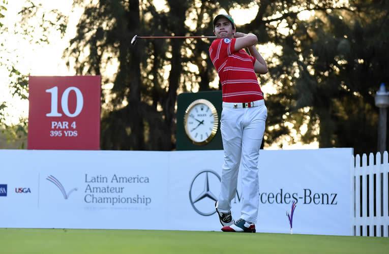 Candidatos a ganar el LAAC 2018: Álvaro Ortiz (México) siempre es protagonista en cada edición (Enrique Berardi/PGA TOUR)