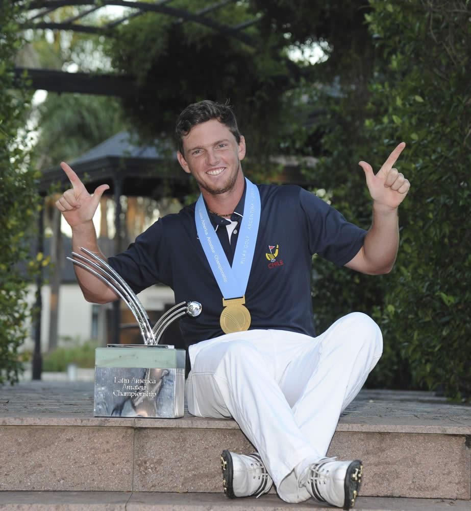 Matías Domínguez (CHI) fue el ganador de la edición inaugural del LAAC en 2015 (Enrique Berardi/LAAC)