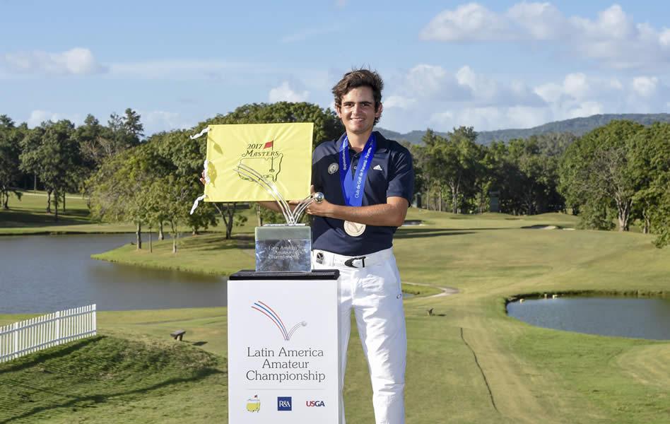Toto Gana (CHI) será el campeón defensor en su país (Enrique Berardi/LAAC)