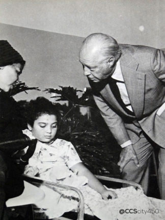 Don Eugenio Mendoza, Fundador del Hospital Ortopédico Infantil. Fuente Fundación Venezolana contra la Parálisis Infantil (cortesía CCScity450)