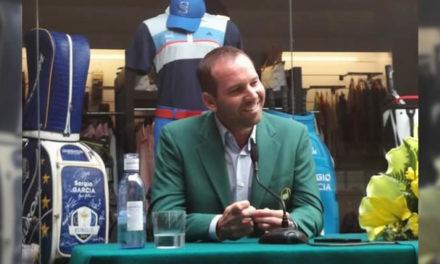 """García: """"Si este triunfo no ayuda para que crezca el Golf en España, ya no sé qué puede hacerlo"""""""