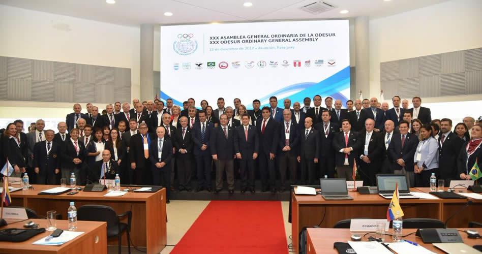 La Federación Sudamericana de Golf, presente en la Asamblea General Ordinaria de la Odesur en Paraguay
