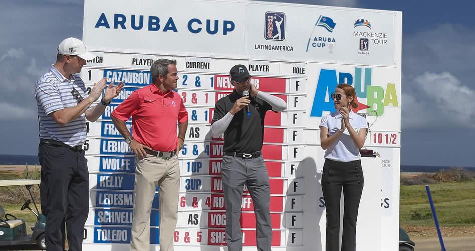 Mackenzie Tour se impuso por la mínima en la Aruba Cup 2017 (Enrique Berardi)