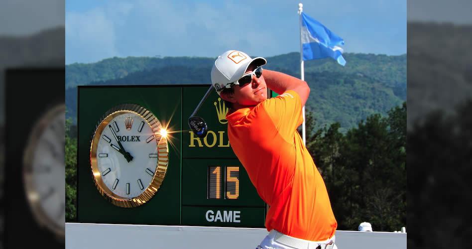 Nicolás líder del golf professional colombiano