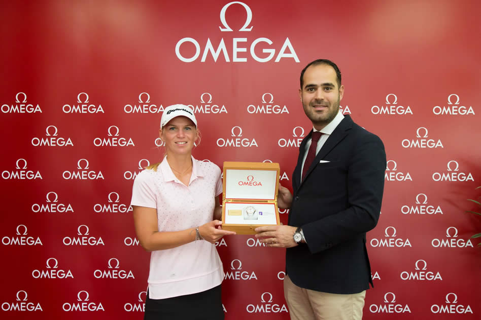 Camille Chevalier, novata del año del Ladies European Tour