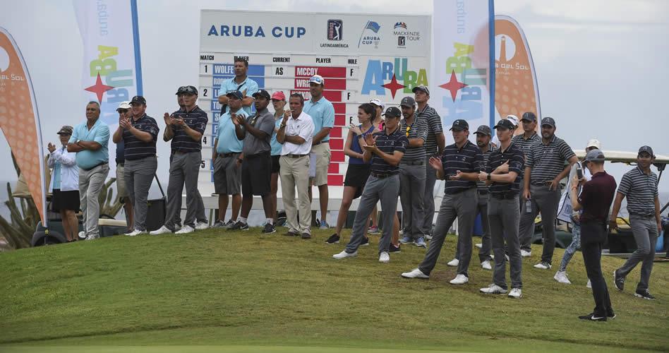 PGA TOUR Latinoamérica contra la pared tras dos días de la Aruba Cup