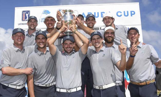 PGA TOUR Latinoamérica y Mackenzie Tour listos su duelo en la Aruba Cup