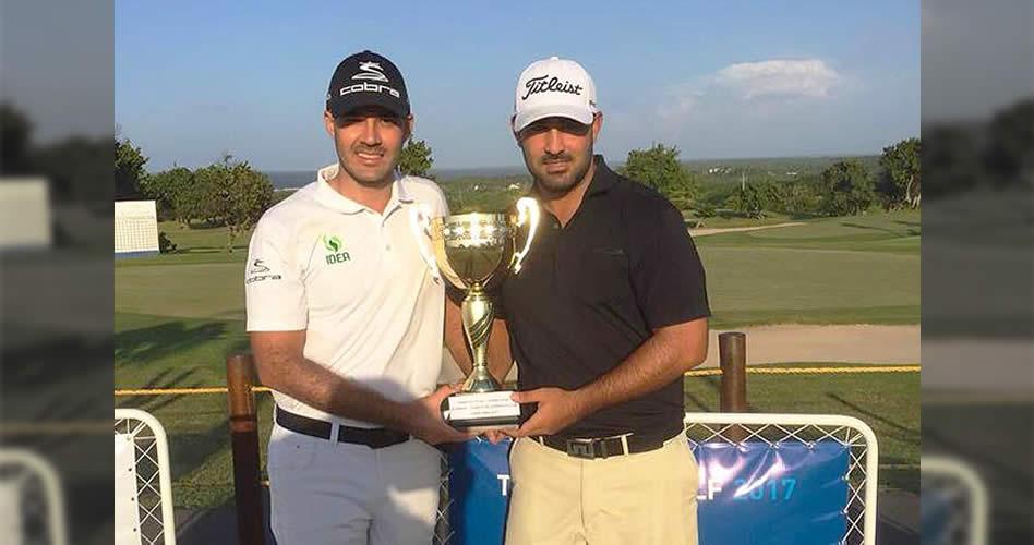 Santiago Tobón y Esteban Restrepo, los ganadores de la 'Copa Fortox'