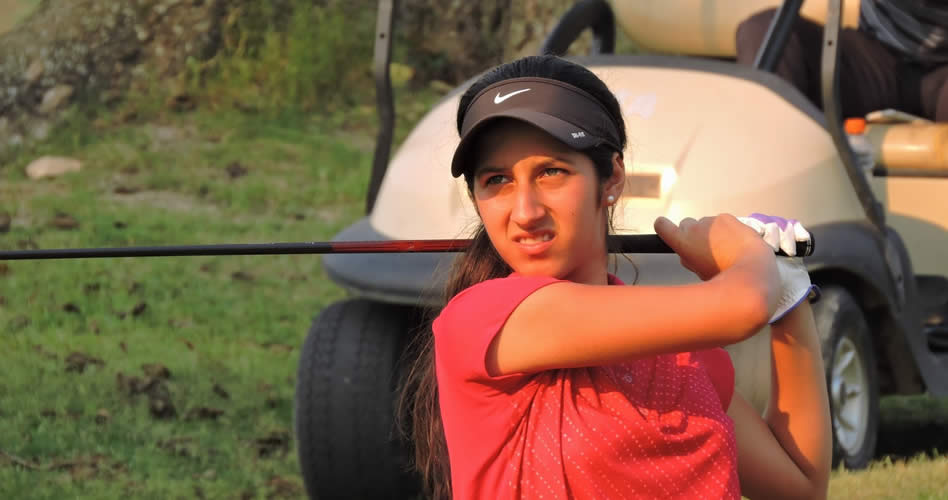 Vanessa Gilly entre las primeras del Global Junior Golf