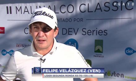 Velázquez mantiene el control del II Malinalco Classic