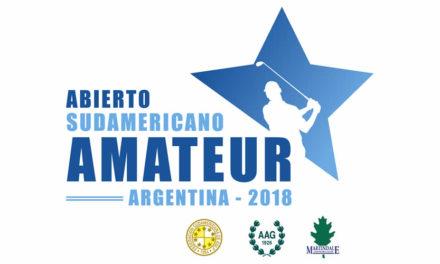 Cuatro líderes, dos en ambas ramas, tiene el Abierto Sudamericano Amateur tras la primera ronda