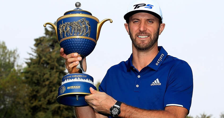 El campeón defensor Dustin Johnson comienza el 2018 en Hawái en el Sentry Tournament of Champions