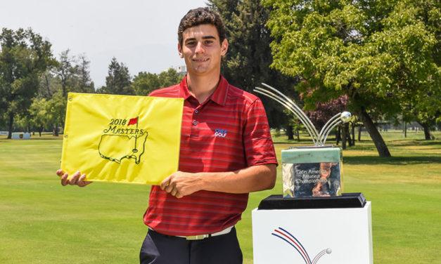 Joaquín Niemann dio una cátedra de golf y se quedó con el LAAC 2018