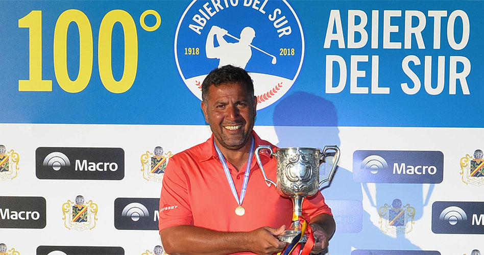 Ricardo Gonzalez triunfó en la 100ª edición del Abierto del Sur