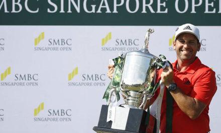 Sergio García comienza el año con un autoritario triunfo en el SMBC Singapore Open+