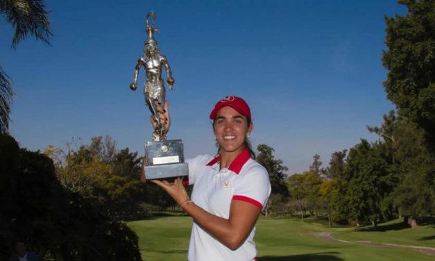 Sigue sumando victorias: María Fassi gana con comodidad el Campeonato Nacional de Aficionadas en México