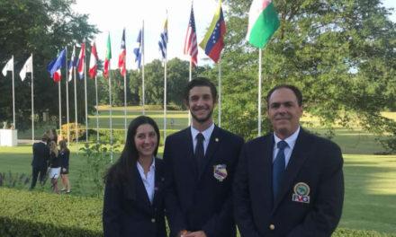 Vanessa Gilly y Manuel Torres representan a Venezuela en el Abierto Sudamericano Amateur de Golf 2018