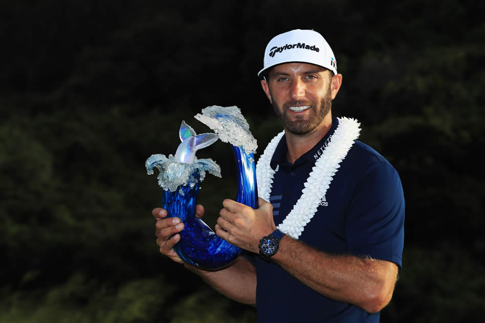 Dustin Johnson (cortesía GolfMagic)