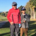 Álvaro Gómez y Hugo Prades se proclaman ganadores del Torneo San Valentín celebrado en Lauro Golf