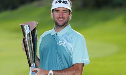 Bubba Watson califica para el World Golf Championships-Mexico Championship con su décima victoria en el PGA TOUR