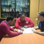 FVG se reúne con el Procurador del la Gobernación de Vargas ante situación de Caraballeda