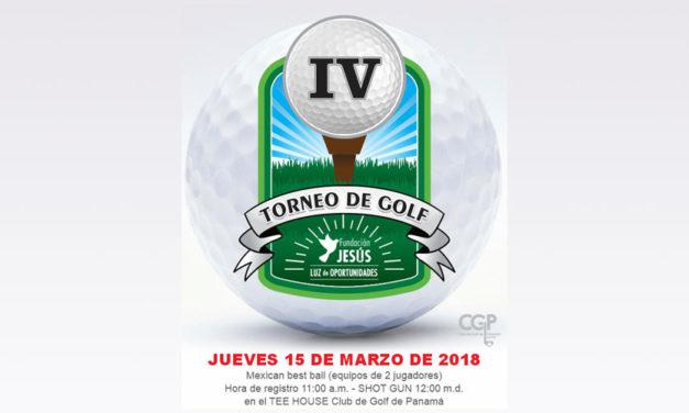 Golf ofrece Oportunidades con la 4ta edición del Torneo Fundación Jesús Luz