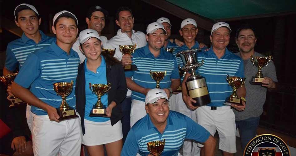 Hacienda Pinilla se dejó el torneo Horace Kelton de golf