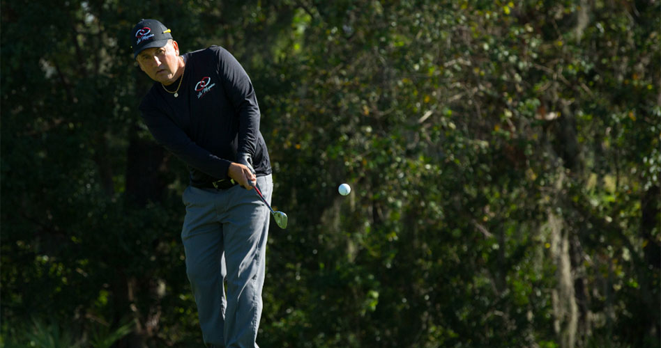 Julio Bell, el colombiano que entrena con los mejores golfistas del mundo