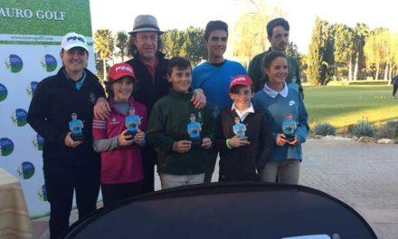 Miguel Ángel Jiménez testigo directo del éxito de la segunda prueba de su circuito celebrada en Lauro Golf