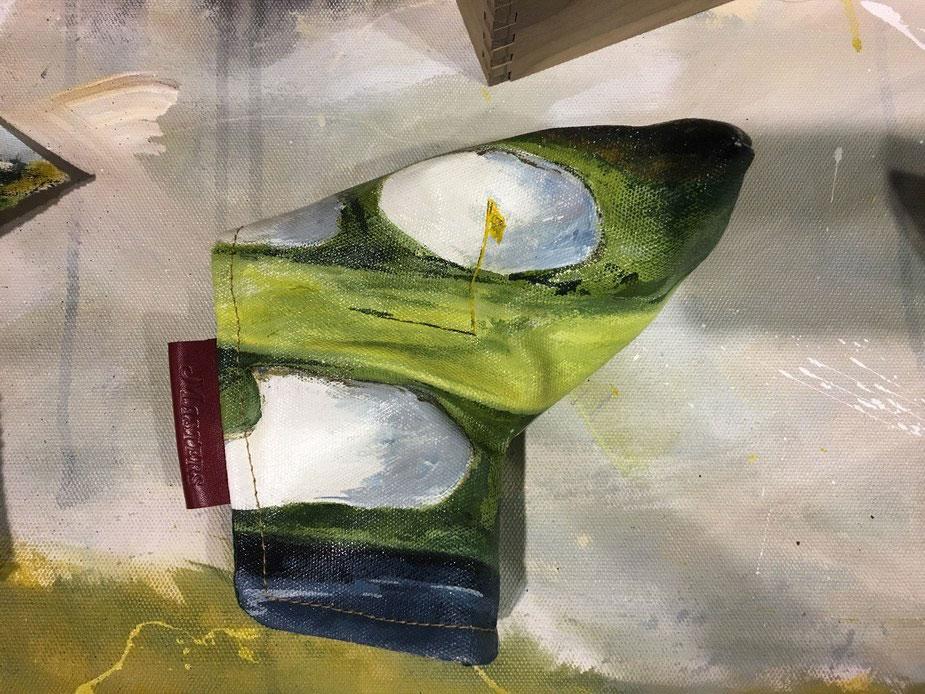 CobertorSeamus pintado a mano