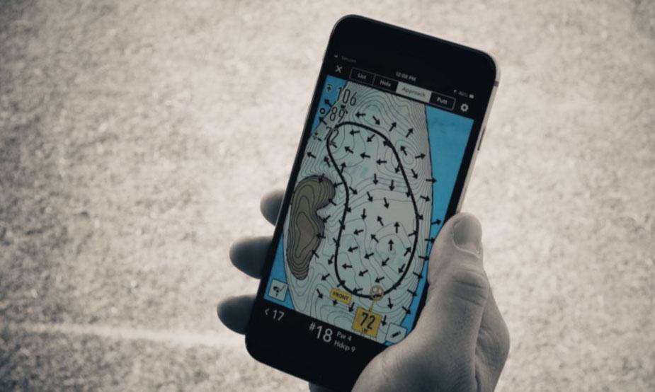 Mapas de Putt Break de GolfLogix