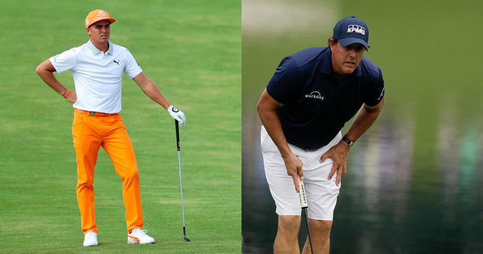 Rickie Fowler y Phil Mickelson se comprometen a jugar en el World Golf Championships-Mexico Championship