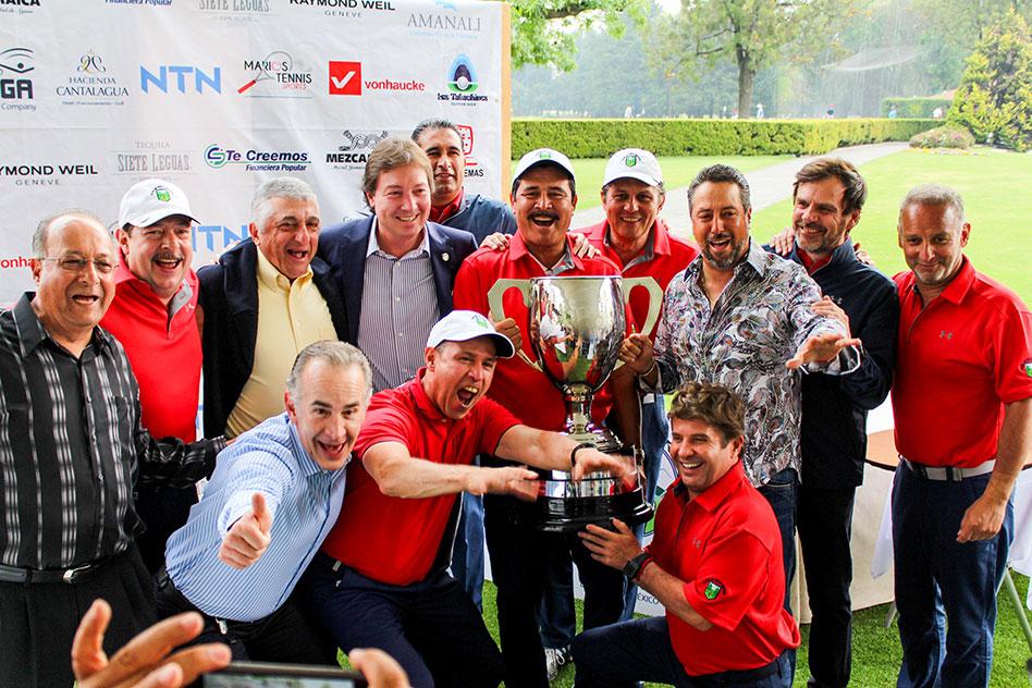 Se corona el Club de Golf México en el XXVIII Torneo Interclubes Senior AGVM